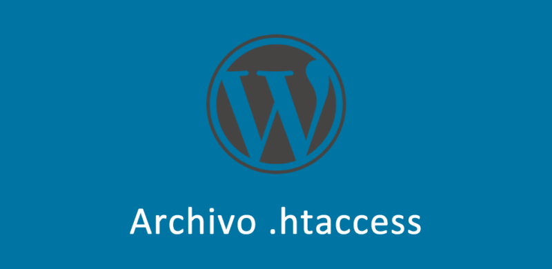 Archivo htaccess en WordPress