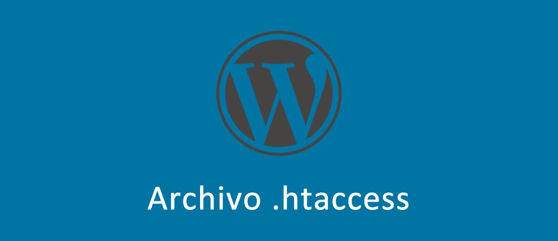 Archivo htaccess en WordPress