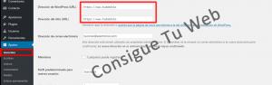 SSL certificado WordPress