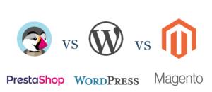 Prestashop vs WordPress vs Magento