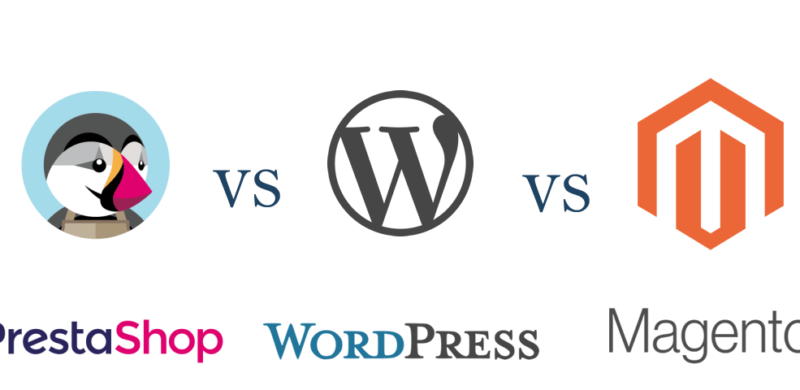 Prestashop vs WordPress vs Magento