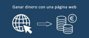 Ganar dinero con una web